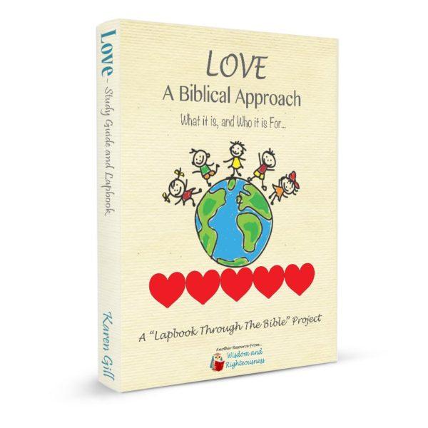 LoveLapbook 3-d book