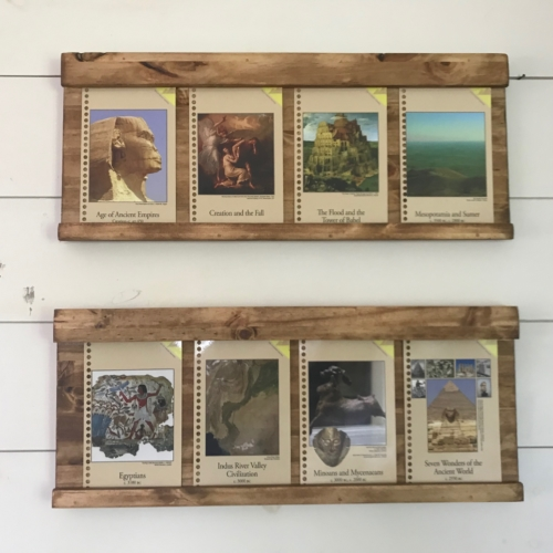 Timeline Cards Holder Frame