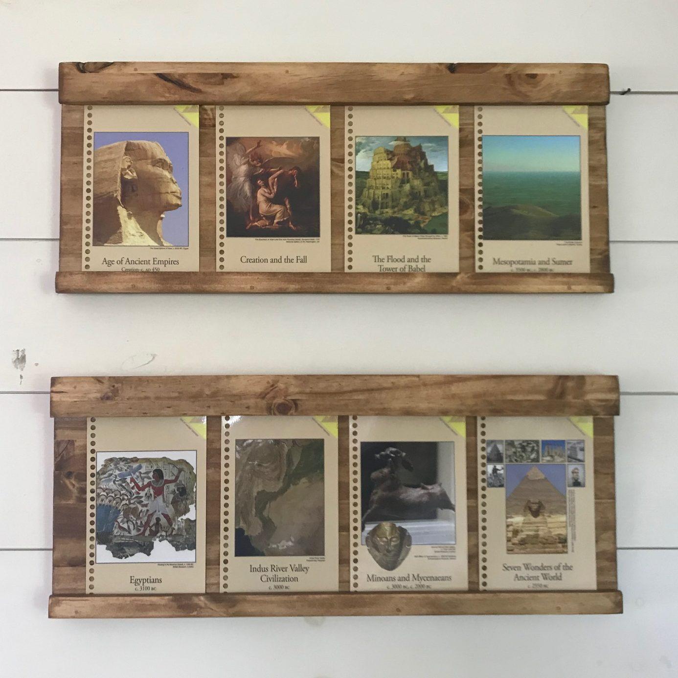 Timeline Card Holder & Kids Art Frames! - Wisdom And Righteousness