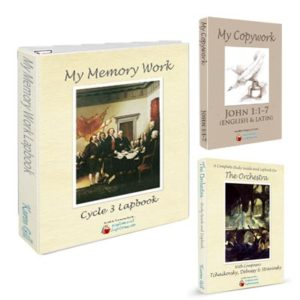 Memory Work Cycle 3 Lapbooks