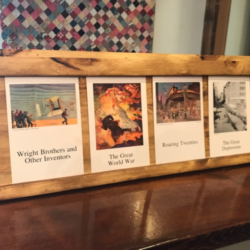 Timeline Card Holders & Frame