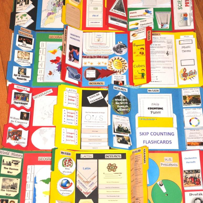 My Memory Work Lapbooks Cycle 2