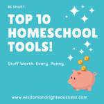 Top 10 Homeschool Supplies